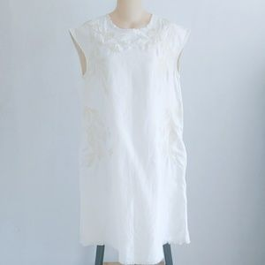 Anthropologie Holding Horses Embroidered Dress